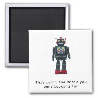Toy Robot fridge magnet