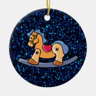 Toy Rocking Horse Christmas Ornament