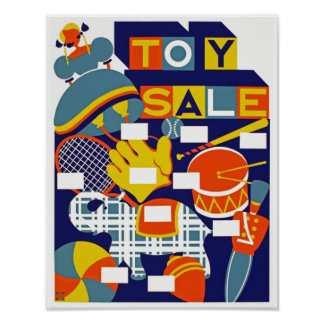 Toy Sale Poster
