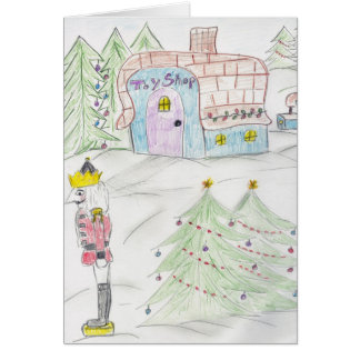 Toy Shop Greeting Card