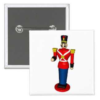 Toy Soldier 15 Cm Square Badge