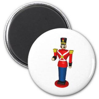 Toy Soldier 6 Cm Round Magnet