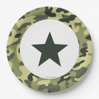 Toy Soldier Army Paper Dinner Plate