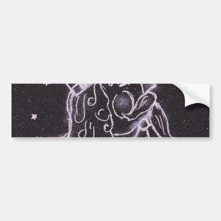 Toy Soldier in Black and Purple Bumper Sticker