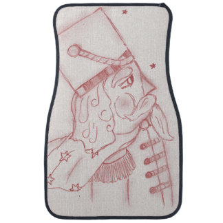 Toy Soldier in Red & White Floor Mat