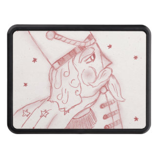 Toy Soldier in Red & White Trailer Hitch Covers