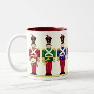 Toy Soldiers Christmas Mug