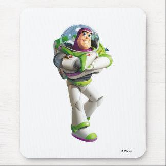 Toy Story Buzz Lightyear standing with folded arms Mouse Pad