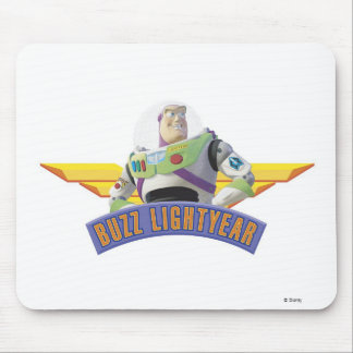 Toy Story Buzz Lightyear wings button pin Mouse Pad
