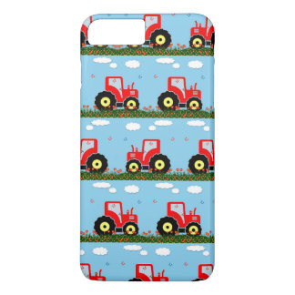 Toy tractor pattern iPhone 7 plus case