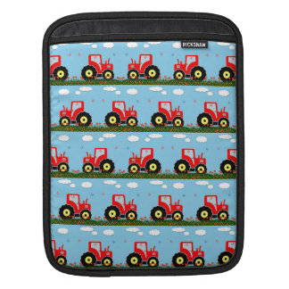 Toy tractor pattern sleeve for iPads