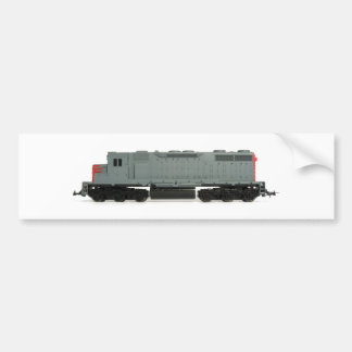 Toy Train Bumper Sticker