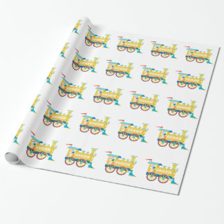 Toy Train Children's Wrapping Paper