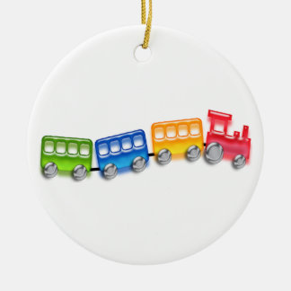 Toy Train Christmas Ornament