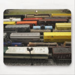 Toy Trains Mouse Pad