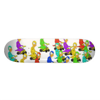 toy truck rally skate deck