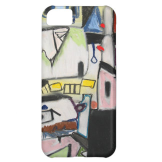 Toy Wars (primitive expressionism) iPhone 5C Cover