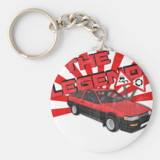 Toyota Corolla AE86 Key Ring
