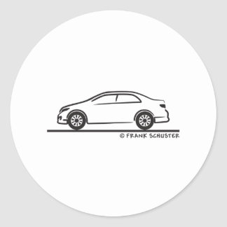 Toyota Corolla Stickers