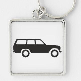 Toyota Land Cruiser 60 Series Icon Keychain