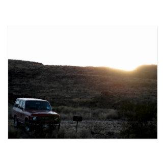 Toyota Land Cruiser Postcard