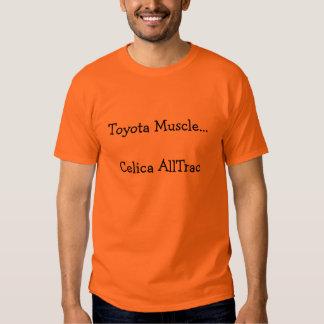 Toyota Muscle...Celica AllTrac Tshirts