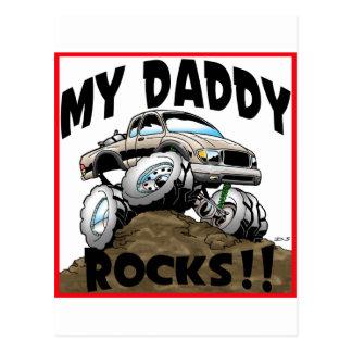 Toyota My Daddy Rocks Postcard