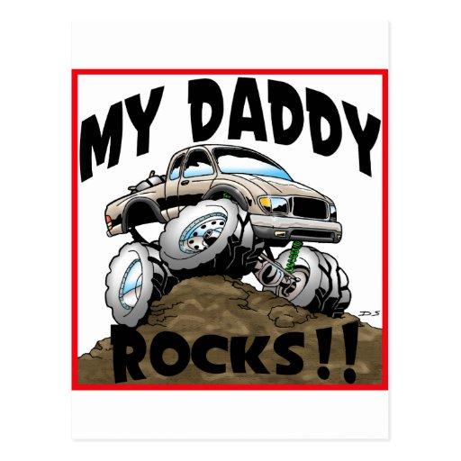 Toyota My Daddy Rocks Post Cards