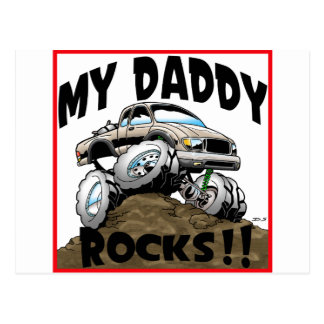Toyota My Daddy Rocks Post Card
