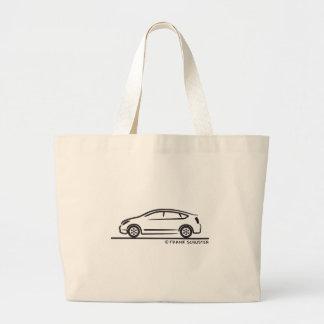 Toyota Prius Jumbo Tote Bag