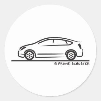 Toyota Prius Round Sticker