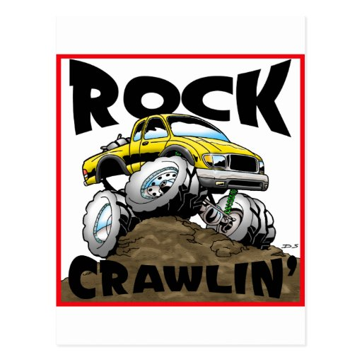 Toyota Twist Rocks Post Cards