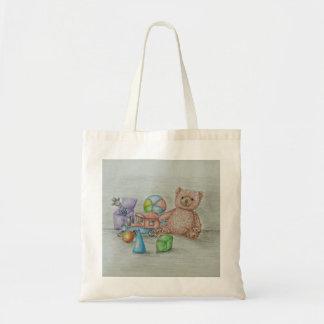 toys budget tote bag