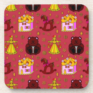Toys – Golden Dolls Chocolate Teddy Bears Coaster