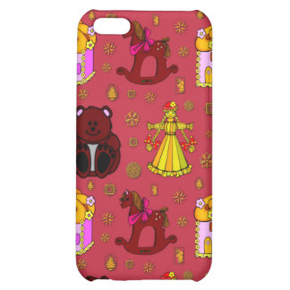 Toys – Golden Dolls & Chocolate Teddy Bears iPhone 5C Cover