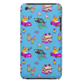 Toys – Pink Dollhouses & Turquoise Kites iPod Touch Covers