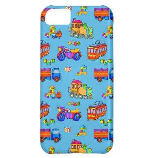 Toys - Red Trucks & Orange Trains iPhone 5C Case