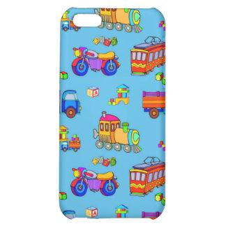 Toys - Red Trucks & Orange Trains iPhone 5C Cover