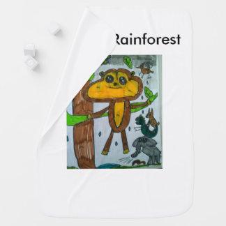 Toytastic Rainforest Baby Blanket