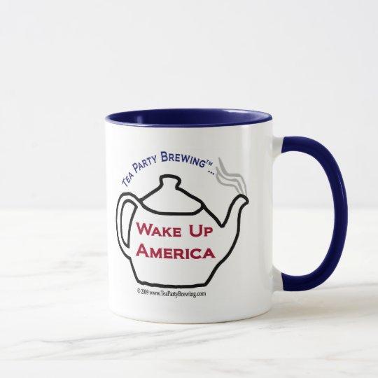 TP0101 Tea Party Wake Up America Mug