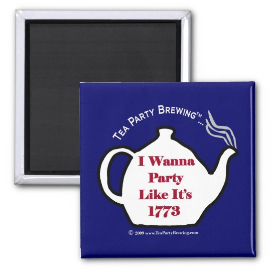 TP0102 Party Like Its 1773 Blue Magnet