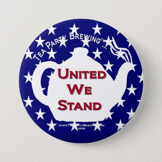 TP0107 Tea Party United We Stand Button
