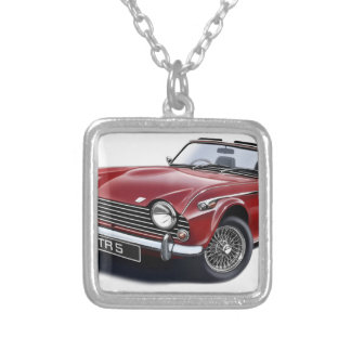 TR5 SILVER PLATED NECKLACE