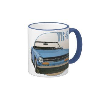 TR6 RINGER COFFEE MUG