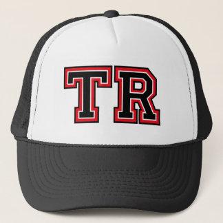 'TR' Monogram Trucker Hat