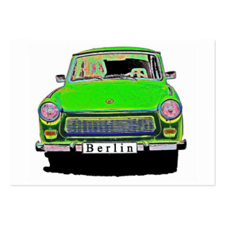 Trabant Car in Green, Berlin Pack Of Chubby Business Cards