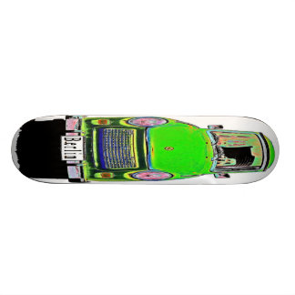 Trabant Car in Green Berlin Skate Board