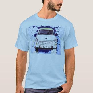 Trabant Car , Pale Blue, Berlin Wall T-Shirt