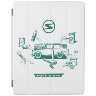 Trabant vintage car iPad Pro Case iPad Cover