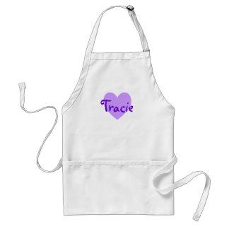 Tracie in Purple Standard Apron